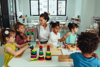Workplace daycares may not be licensed.