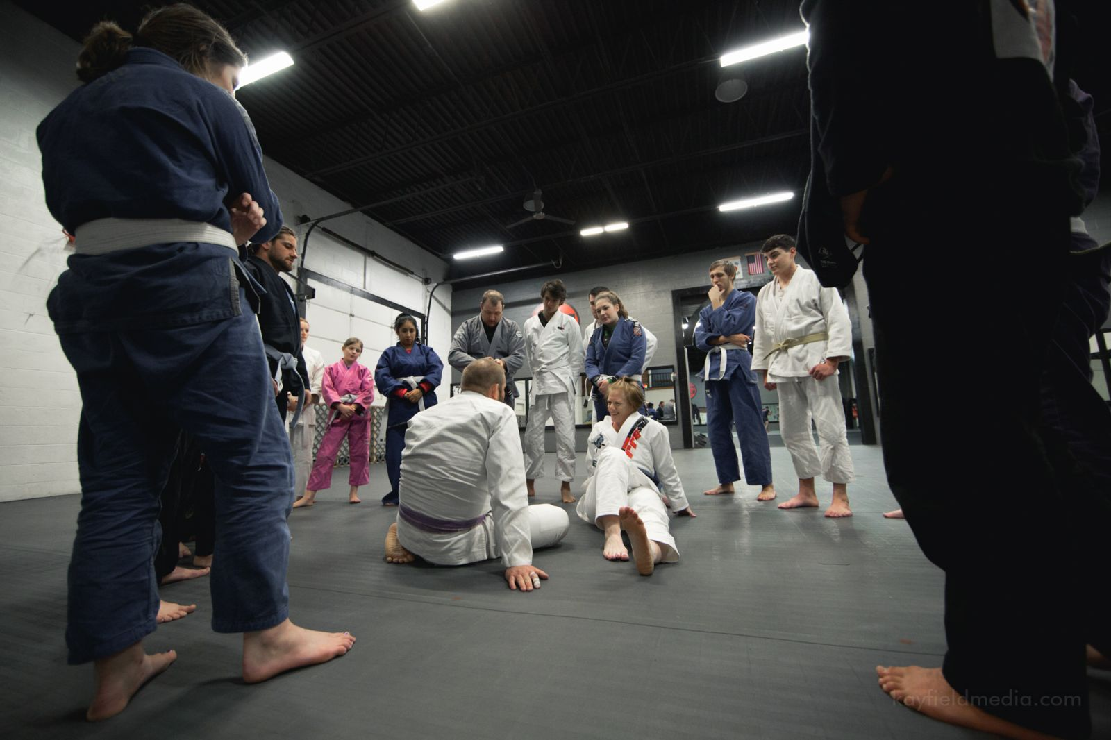 Brazilian Jiu JItsu Self Defense Classes in Exton and Berwyn, PA