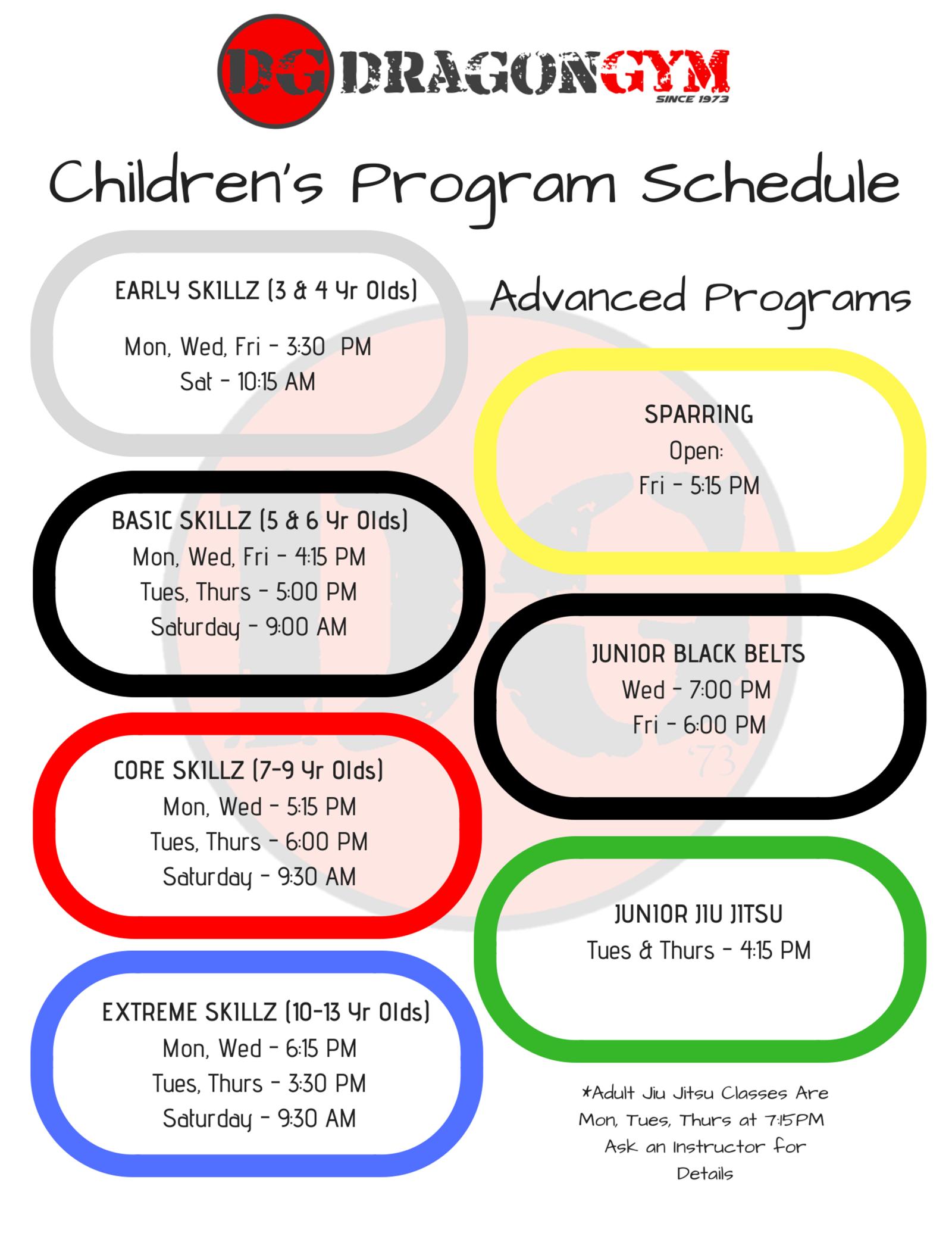 Kids Martial Arts Berwyn Pa, Children's Tae Kwon Do Class Schedule