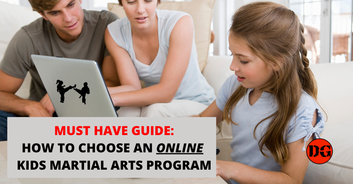 How To Choose An Online Kids Martial Arts Program