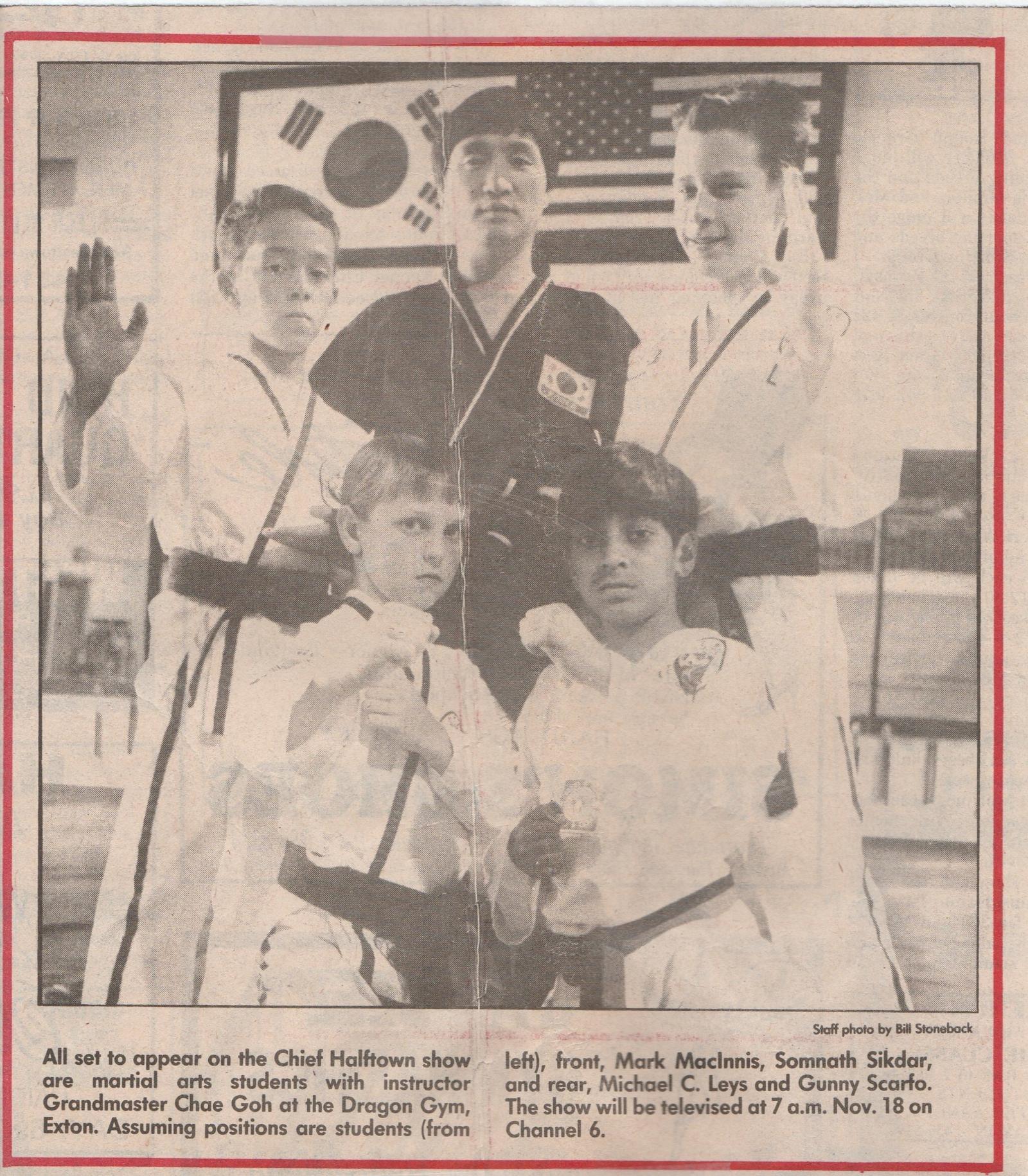 Taekwondo Classes in Exton, Malvern, and Berwyn, PA