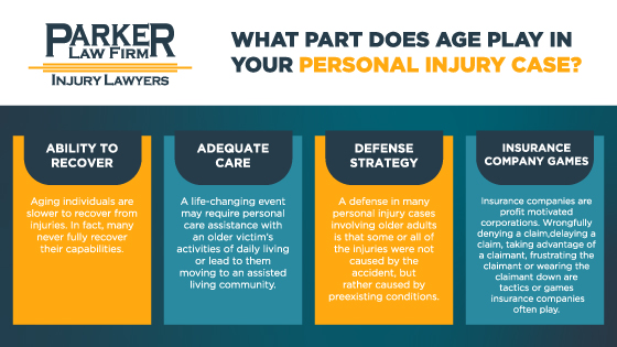 Age and Your Personal Injury Case Parker Law Firm