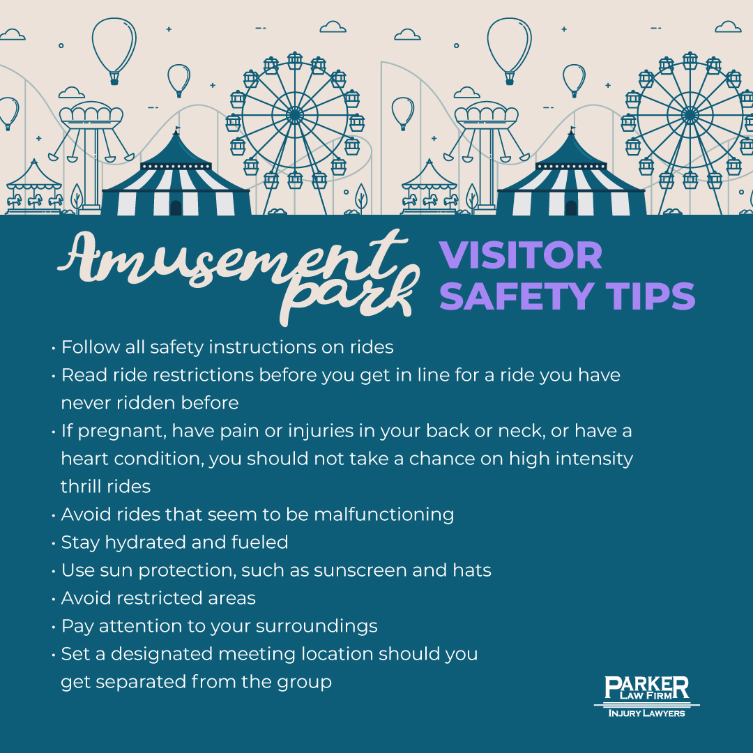 amusement park safety tips for Texas Personal Injury Lawyer Parker Law Firm