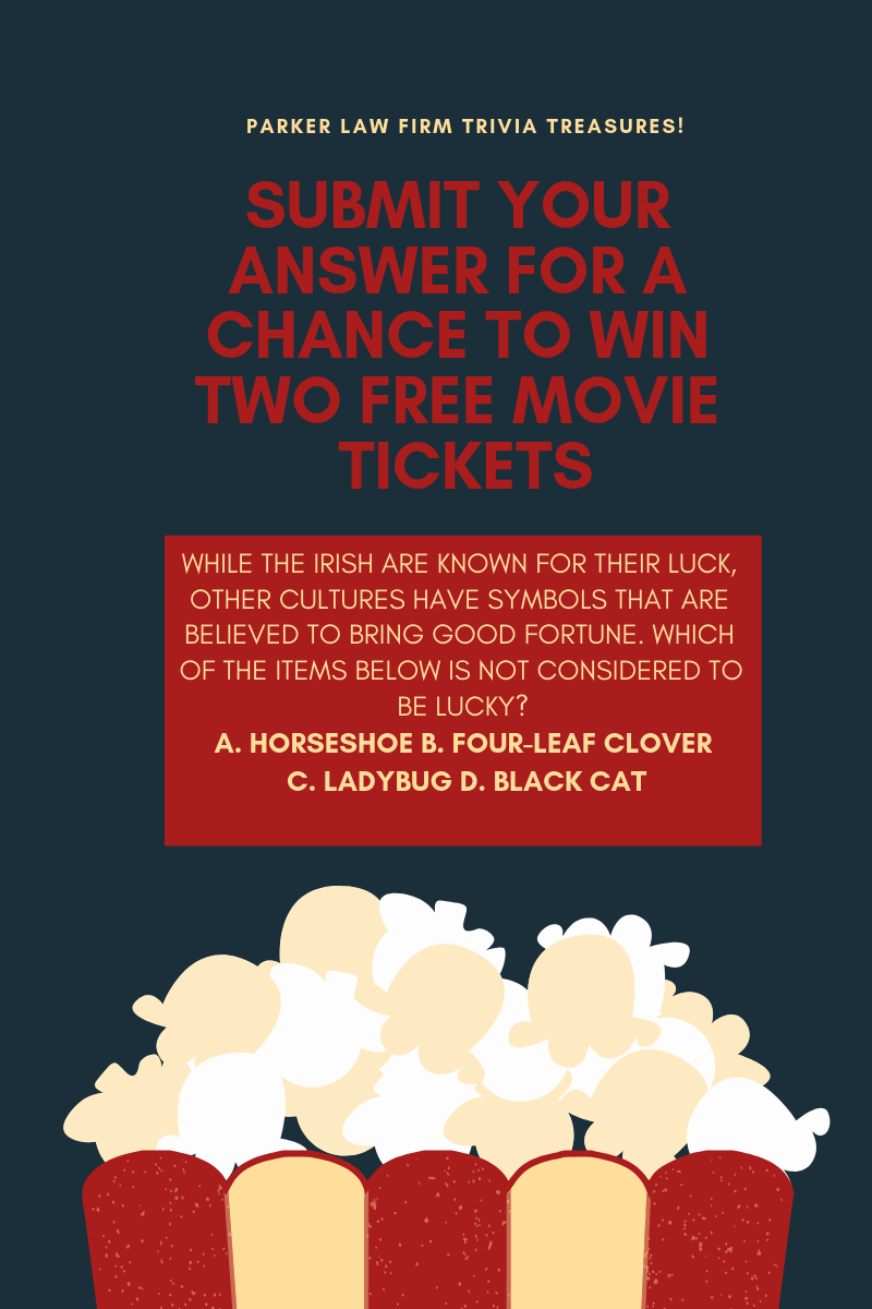 Win movie tickets from your personal injury lawyer