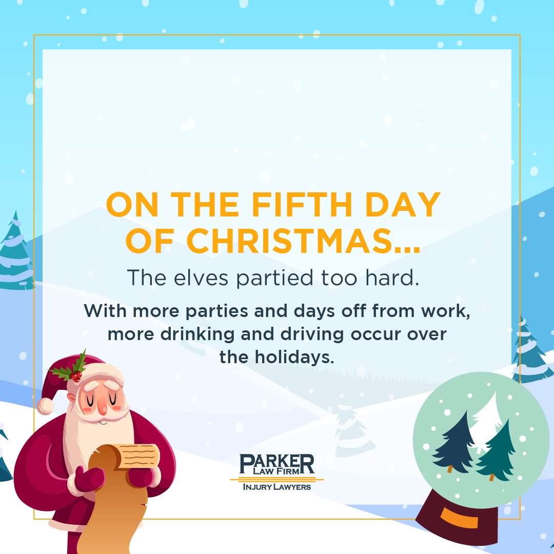 Fifth Day of Christmas Parker Law Firm
