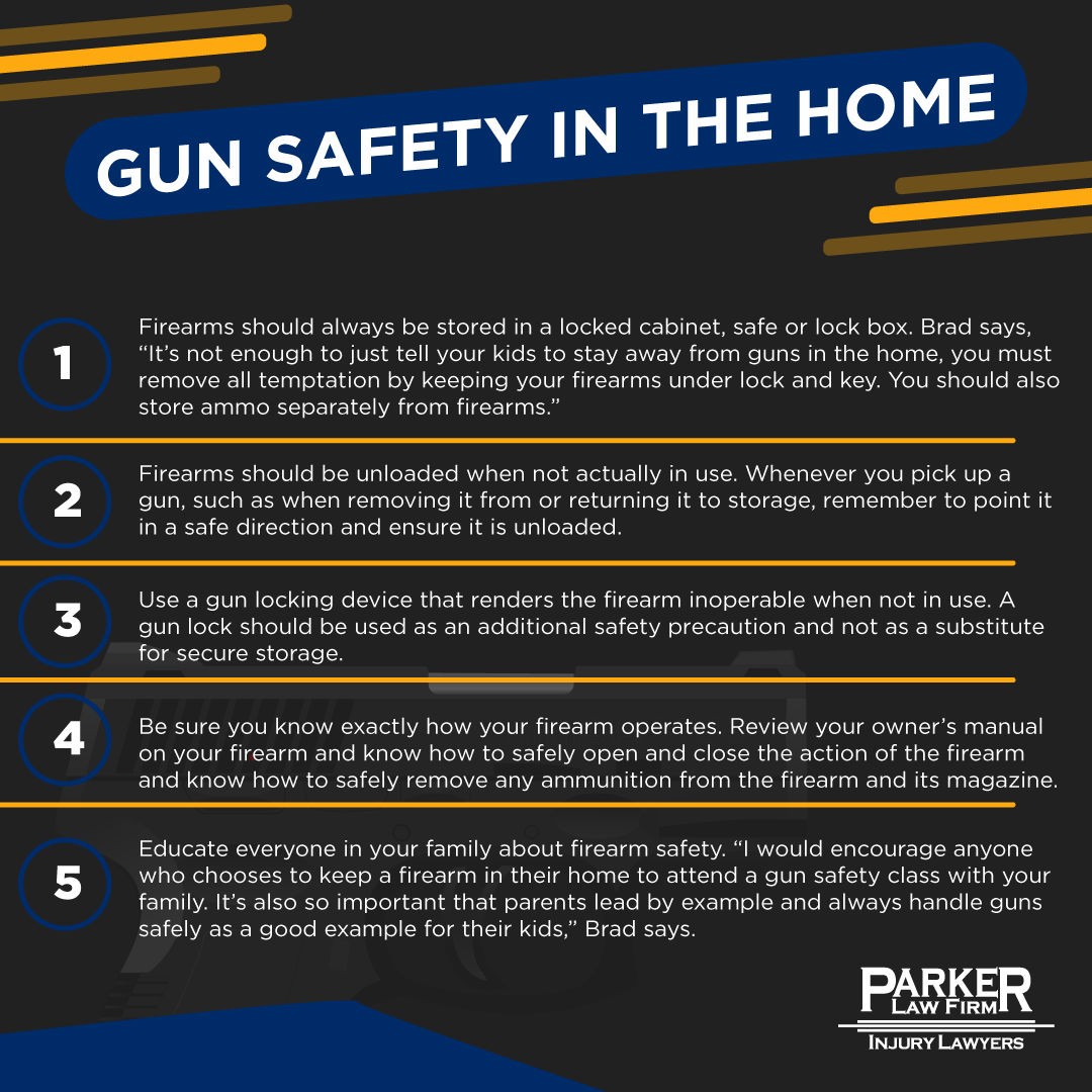 Gun Safety The Parker Law Firm