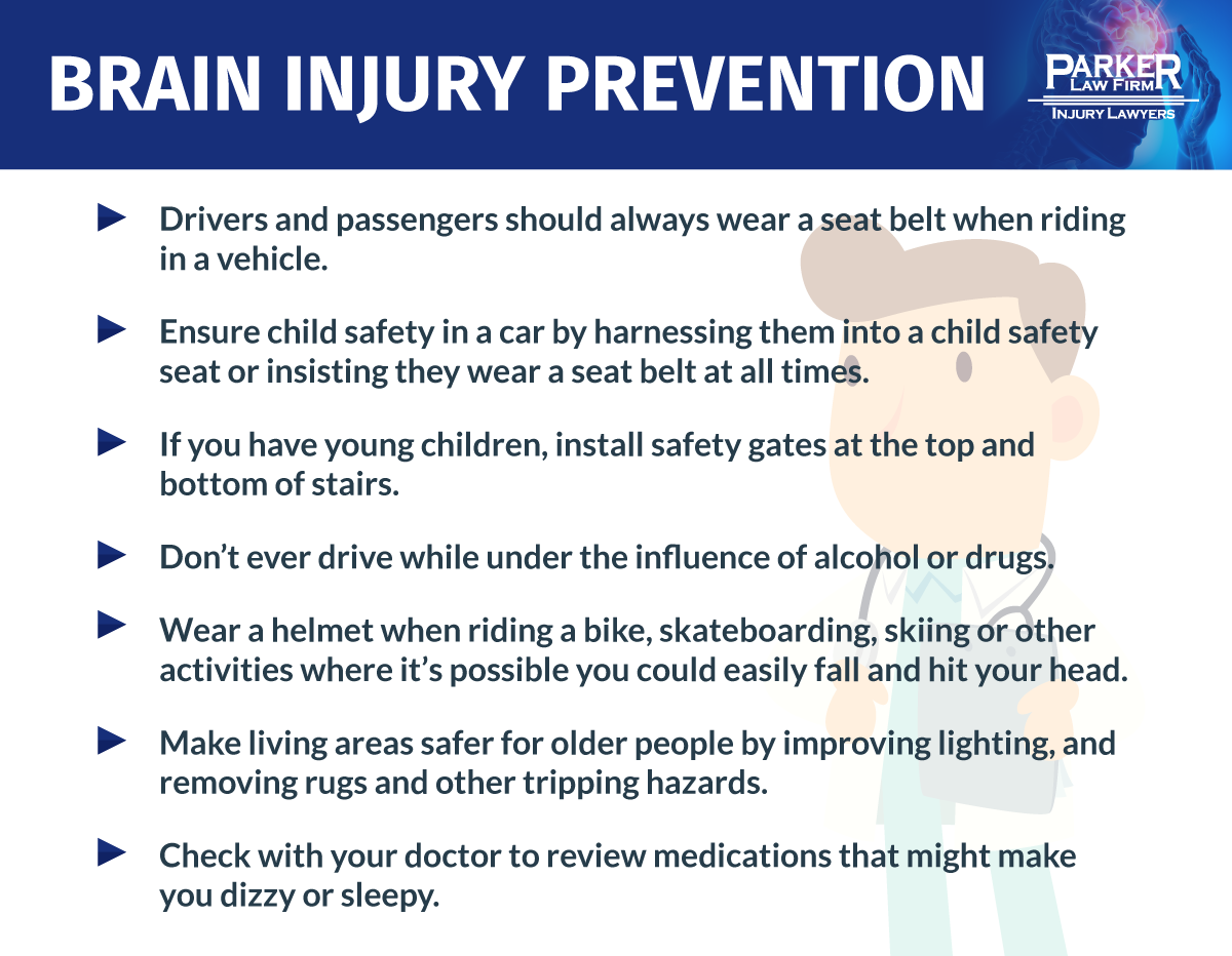 Ways to Prevent Traumatic Brain Injury
