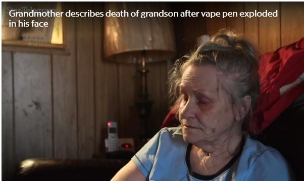 Keller Grandma Grieves ECig Death