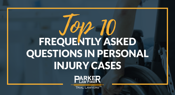 Personal Injury Frequently Asked Questions