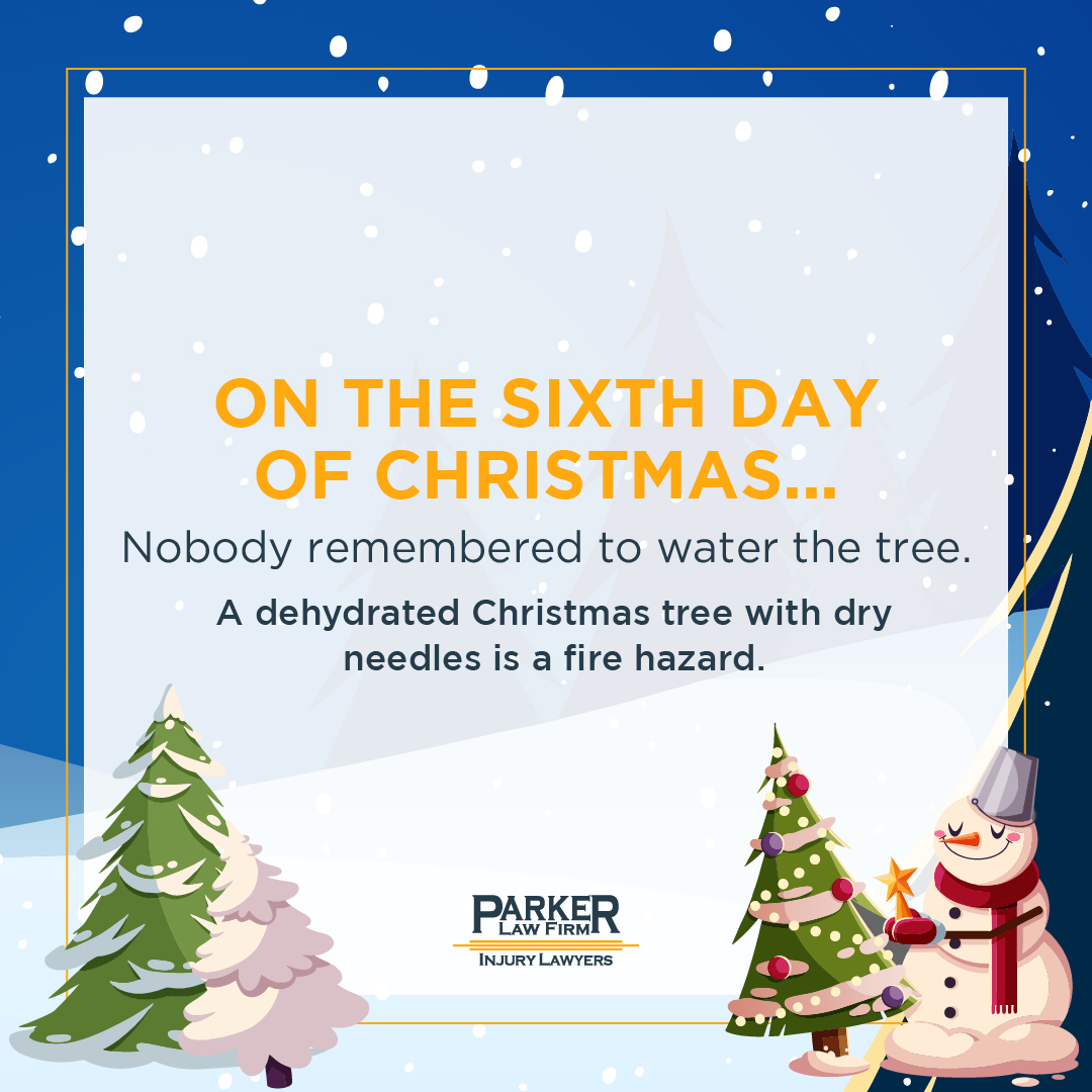Sixth Day of Christmas Parker Law Firm