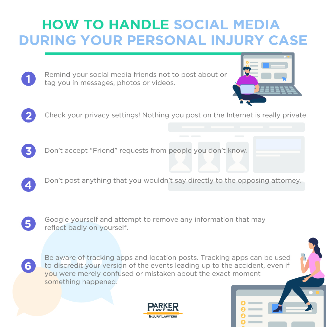 How to Handle Social Media During Your Personal Injury Case