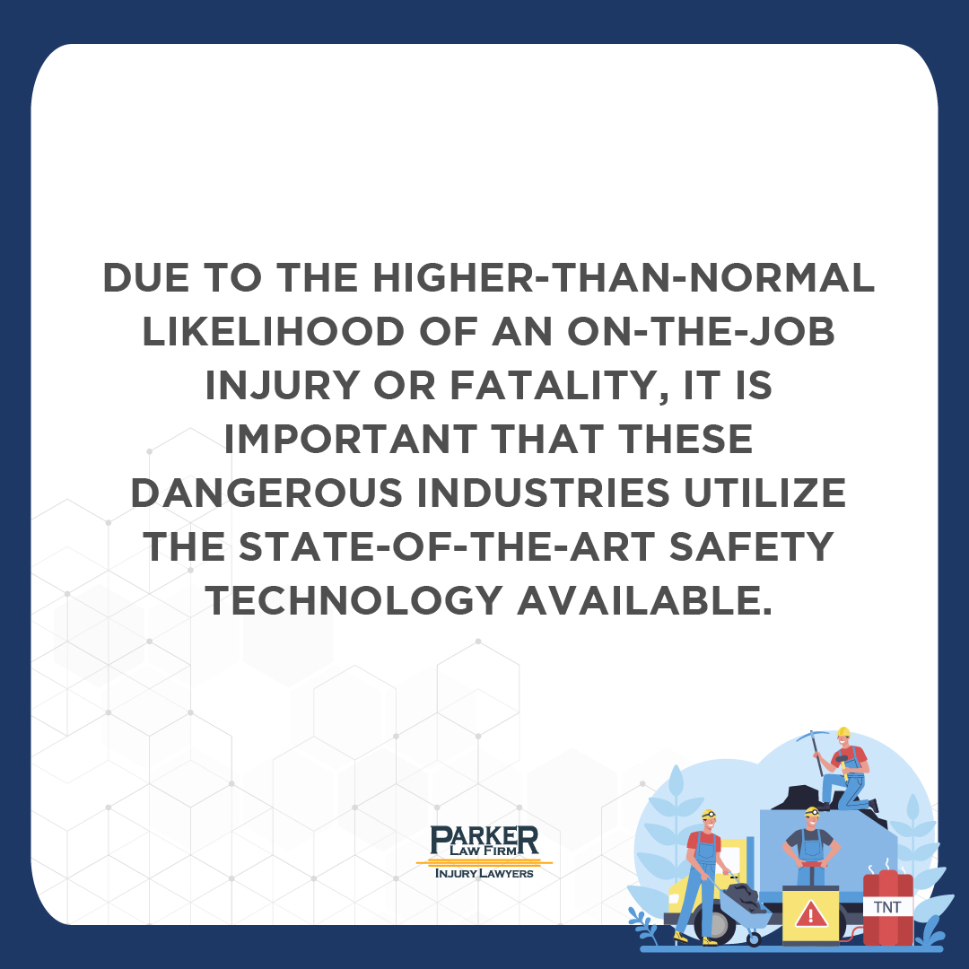 Life Saving Tech for Workers is important Parker Law Firm