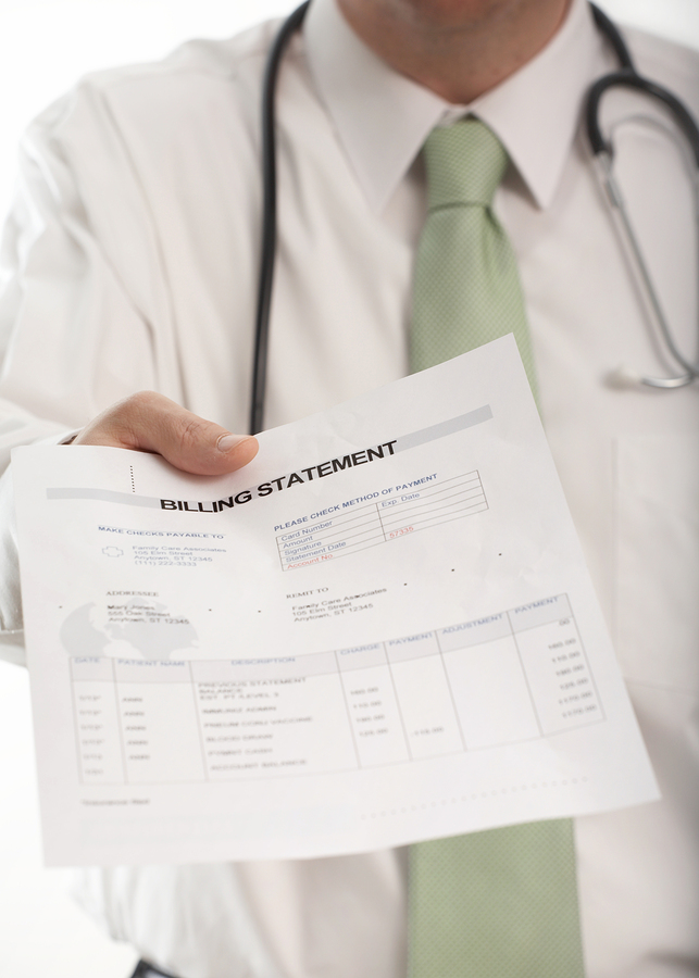 Submit medical bills and documents to your attorney
