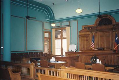 Fort Worth Courtroom