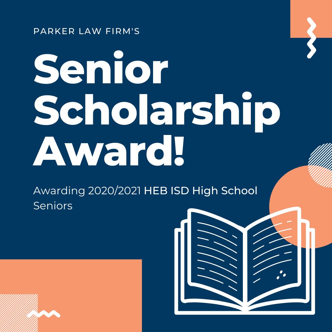 Senior Scholarship Award