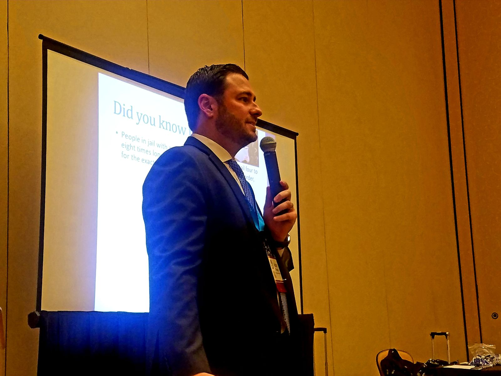 Criminal and DUI defense attorney Adam Rossen delivers a speech to therapists about the need for attorneys and therapists to have a unified approach. This is specifically important for mental health patients who have legal issues, or legal services clients who may also have mental health struggles.