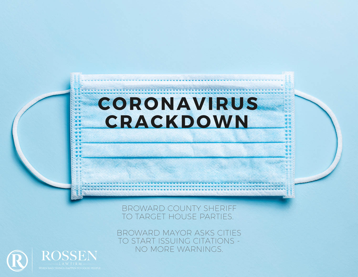 Broward Couinty cracking down on coronavirus and COVID19 violations with citations and penalties in South Florida and Fort Lauderdale