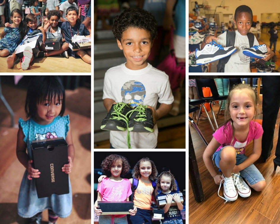 In Jacobs Shoes is a local South Florida Charity helping to provide for children in need