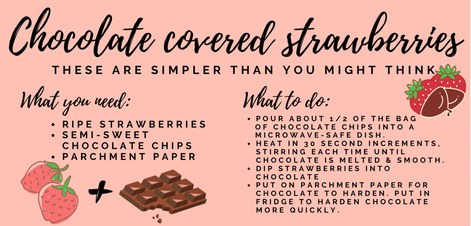 At home valentines day chocolate covered strawberry recipe for safe South Florida Valentine's date at home
