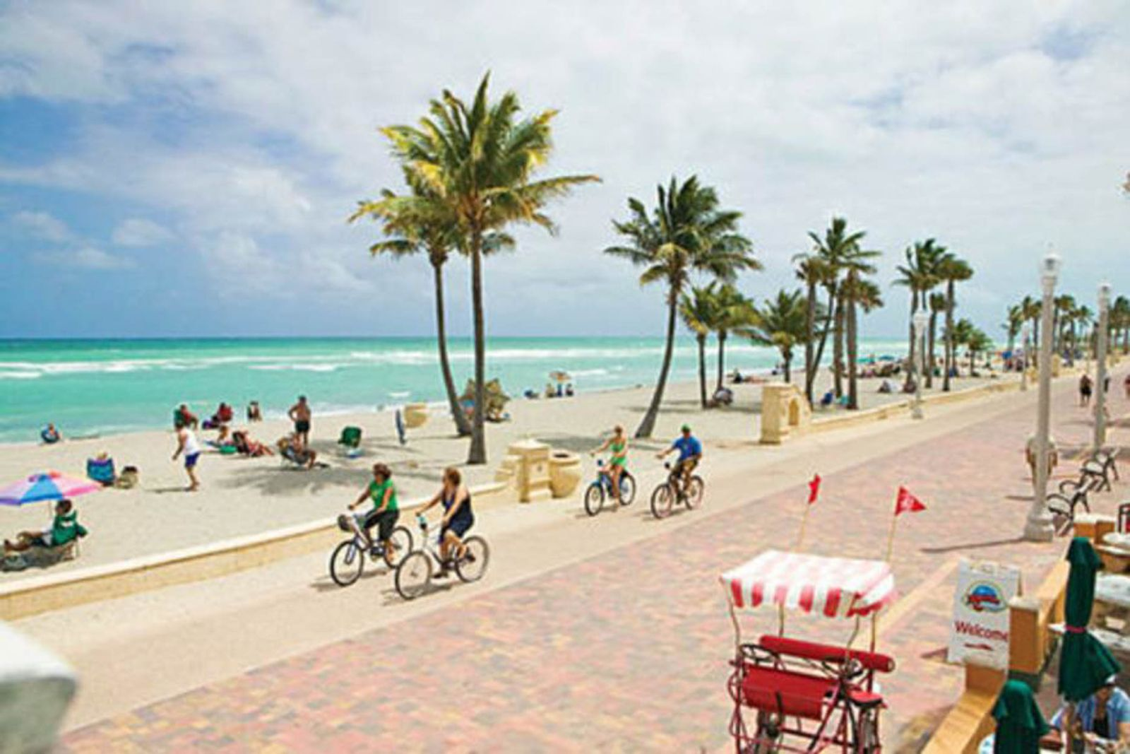 Hollywood Beach boardwalk - if charged with a crime, get a hollywood criminal defense attorney