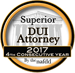 Superior DUI Attorney rating for Adam Rossen, a Fort Lauderdale DUI Attorney serving all of South Florida