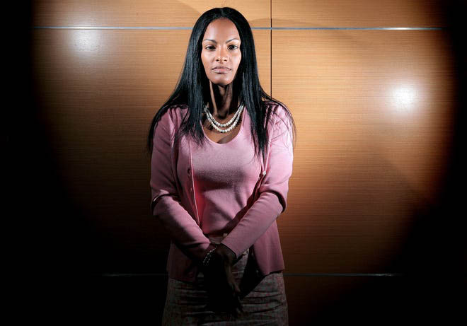 Photo shows Tasha Ford, a Boynton Beach woman, who was arrested in 2009 for recording the police while they were arresting her son. She sued the police for false arrest and won in the Fourth District Court of Appeal in South Florida