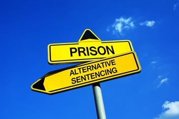 Sentencing alternatives for domestic assault & battery