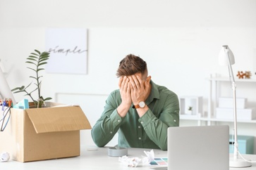 Distraught Employee That Was Just Fired