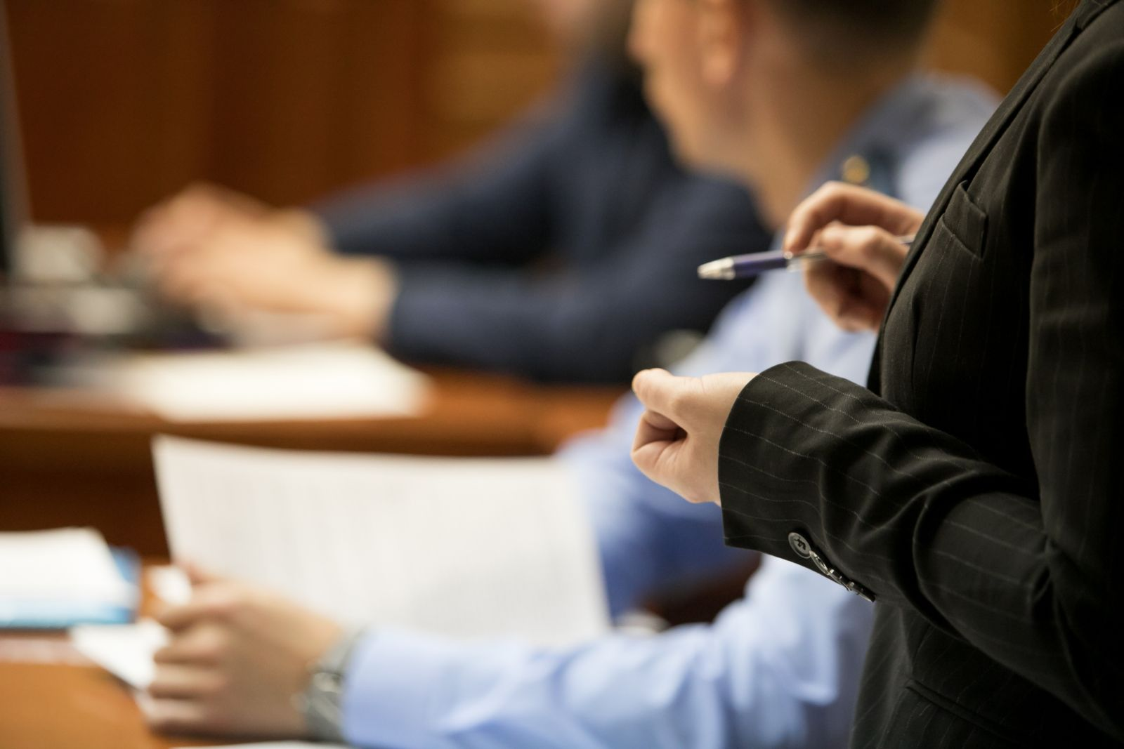 experienced trial attorney