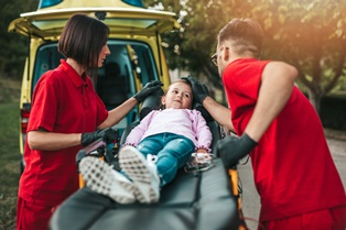 When your child is hurt in a car crash