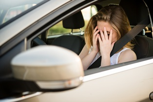 Accidents with teen drivers
