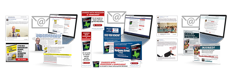Direct Mail and Email Package Montage