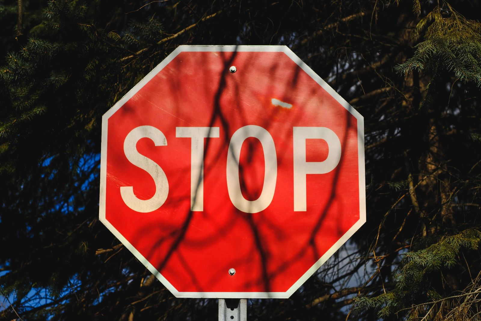 stop sign traffic control
