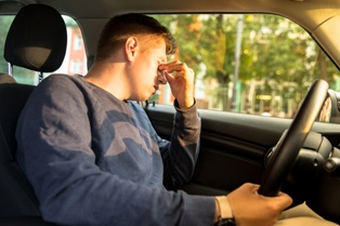 A Drowsy Driver in the Front Seat