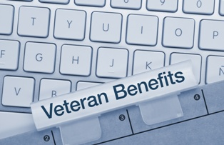 Veteran Benefits Folder for Service-Connected Disability