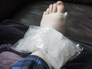 Injured Employee in New Mexico With a Hurt Foot