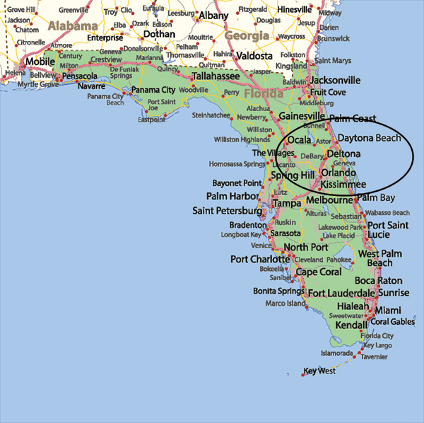 Areas Served By Our Central Florida Dui Criminal Defense Team
