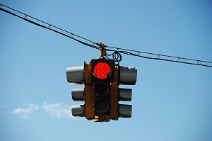 Red light fault with car accidents