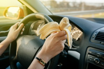 Safety features can make drivers prone to distraction.