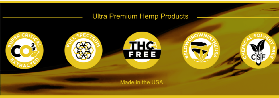 ultra premium hemp products