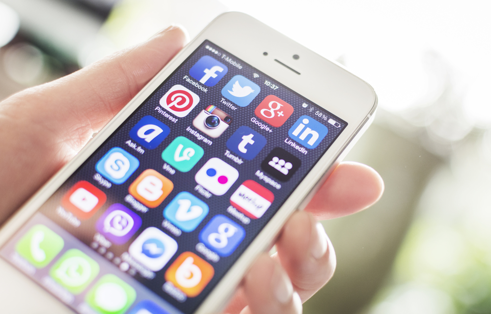 using social media after an auto accident