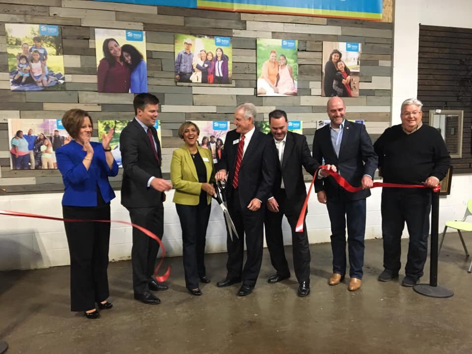 Opening ceremony for Habitat for Humanity ReStore