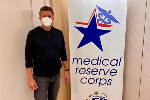 medical reserve corps volunteer, Attorney Kevin McManus
