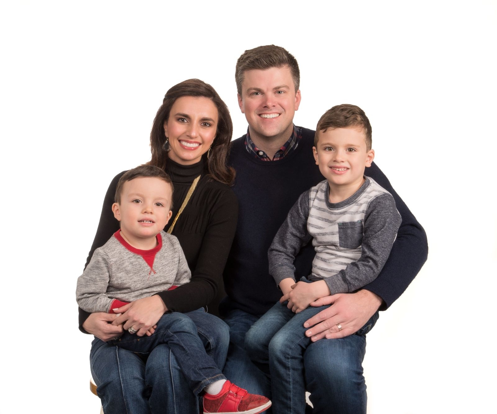 Kansas City Attorney Kevin McManus and family