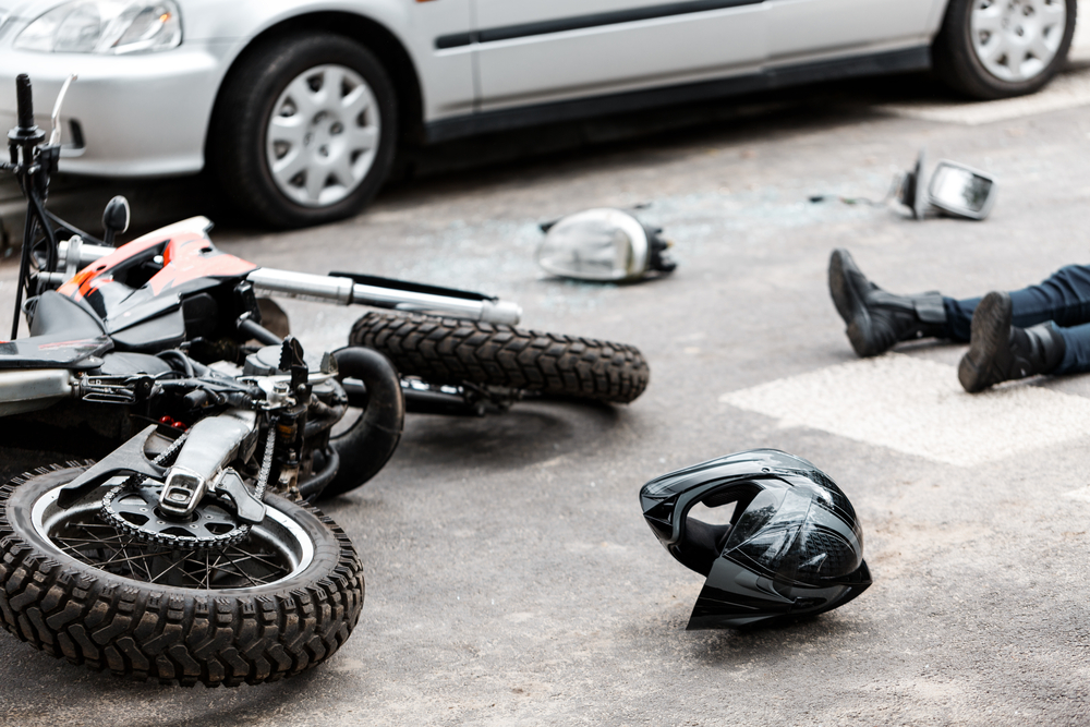 Is talking to an adjuster after a motorcycle accident a good idea in Kansas City?