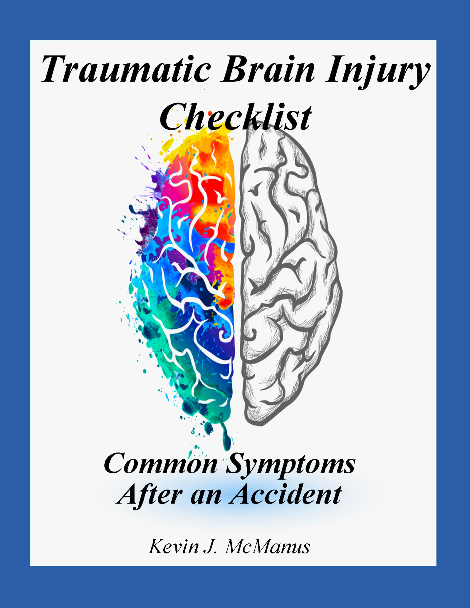 TBI checklist of brain injury symptoms by a brain injury attorney in Kansas City, MO