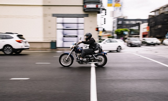 Motorcycle accident kansas city lawyer lane splitting