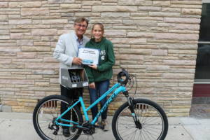 Chelsea White Barberi Law Firm's Bikes for Kids 2016 Winner