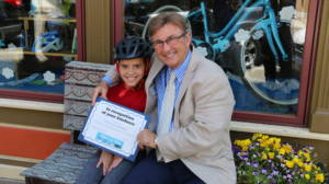 Dave Barberi and Vincio Fernandez Barberi Law Firm Bikes for Kids