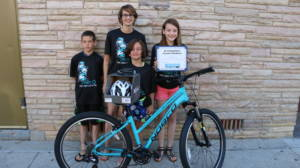 Libby Olson 2016 Winner of Barberi Law Firm's Bikes for Kids